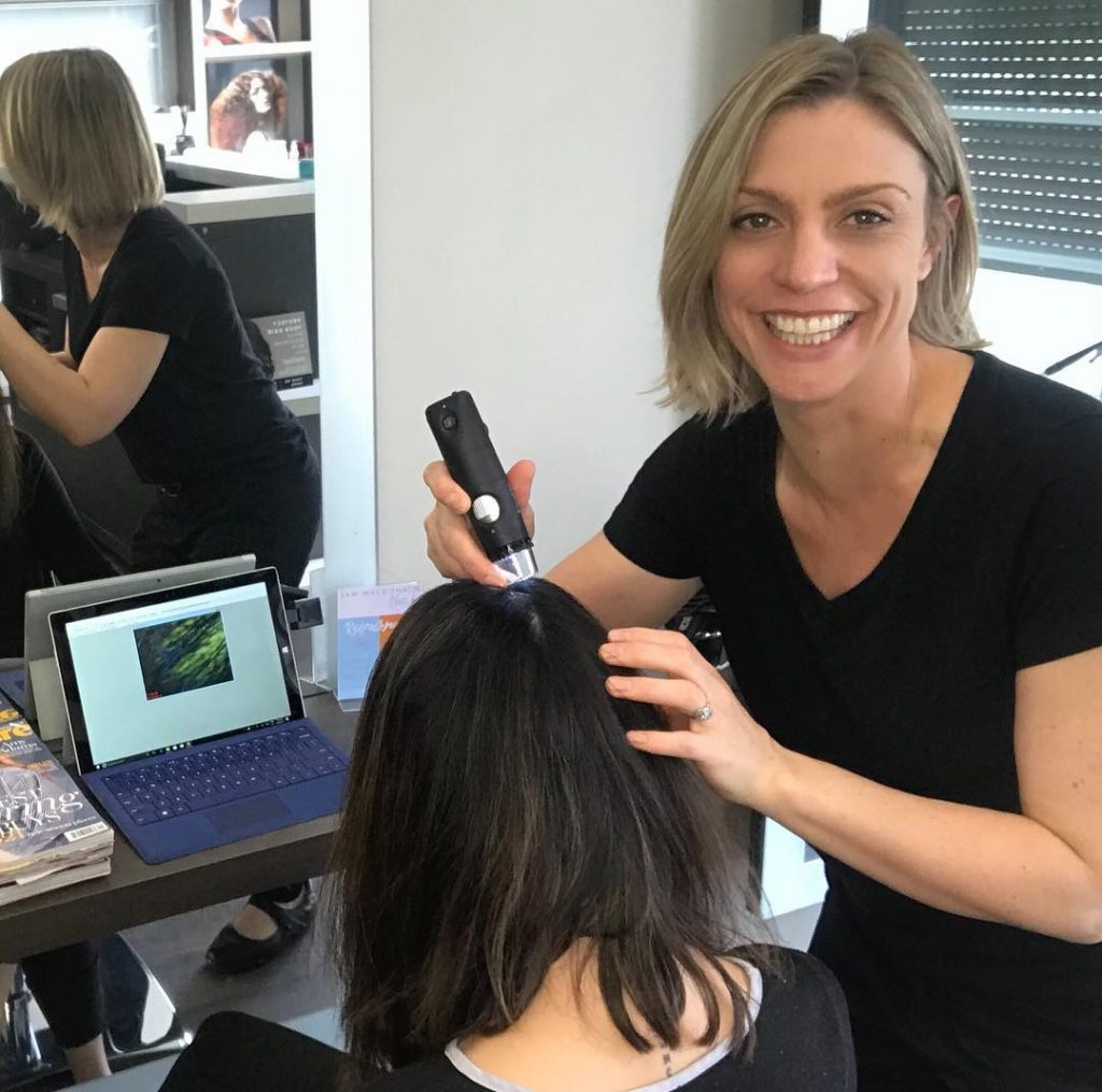 Trichology Scalp Analysis For Women | Trigg Hairdresser | Hair Care Karrinyup, North Beach, Scarborough, Carine, Marmion