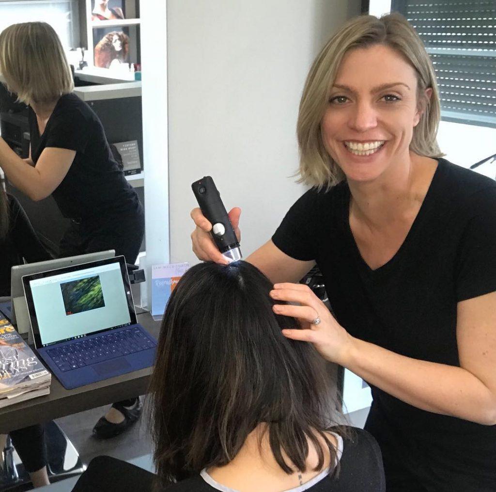 Trichology Scalp Analysis For Women | Trigg Hairdresser | Hair Care Karrinyup, North Beach, Scarborough, Carine, Marmion
